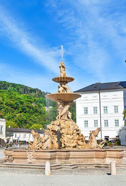 Residenzbrunnen-Salzburg