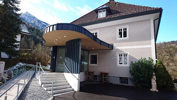 Untersbergmuseum Grödig Fürstenbrunn Eingangsbereich